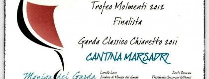Wyróżnienie w konkursie Italia in Rosa – Trofeo Molmenti