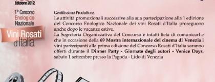 Wino Marsadri na Festiwalu Filmowym w Wenecji